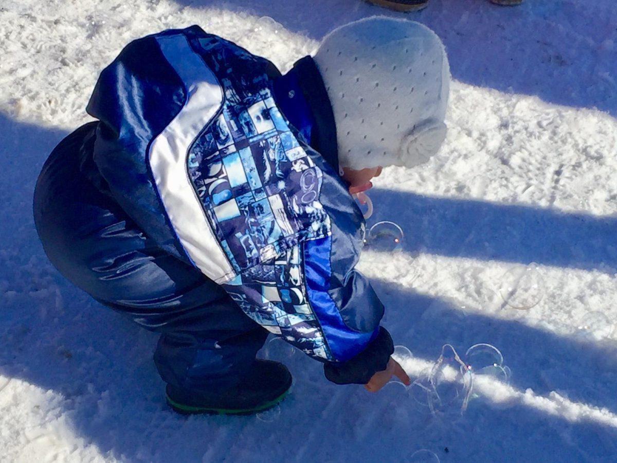 il divertimento sulla neve